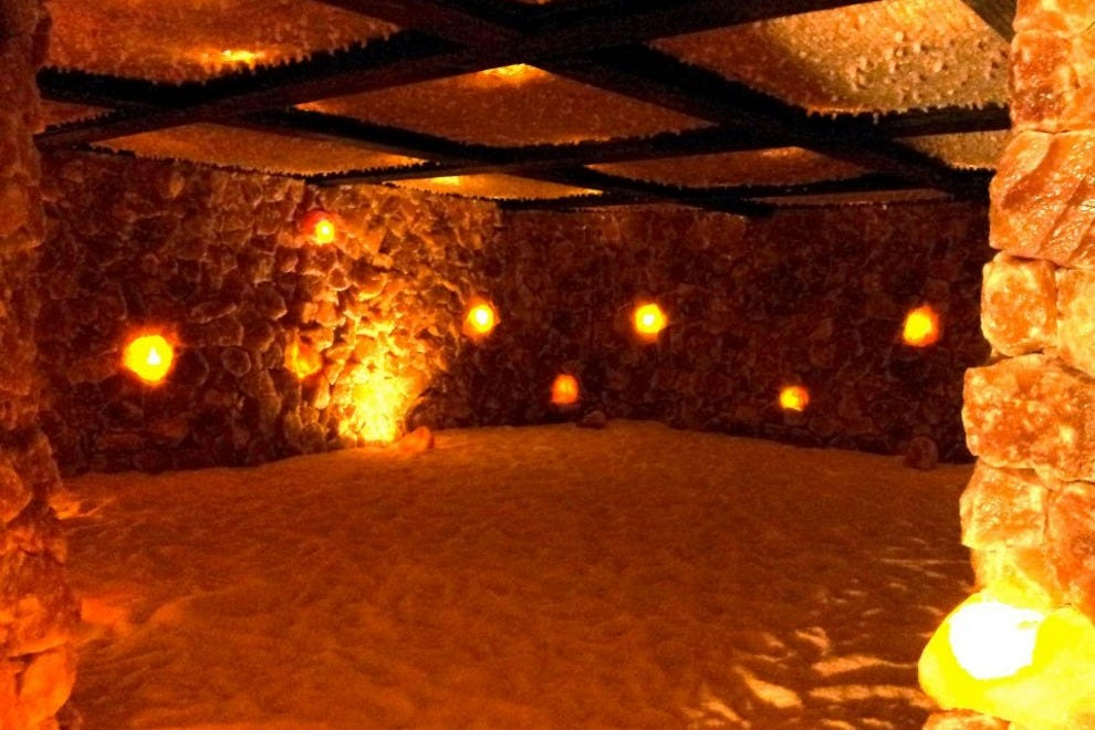 salt cave santa barbara  santa barbara attractions review