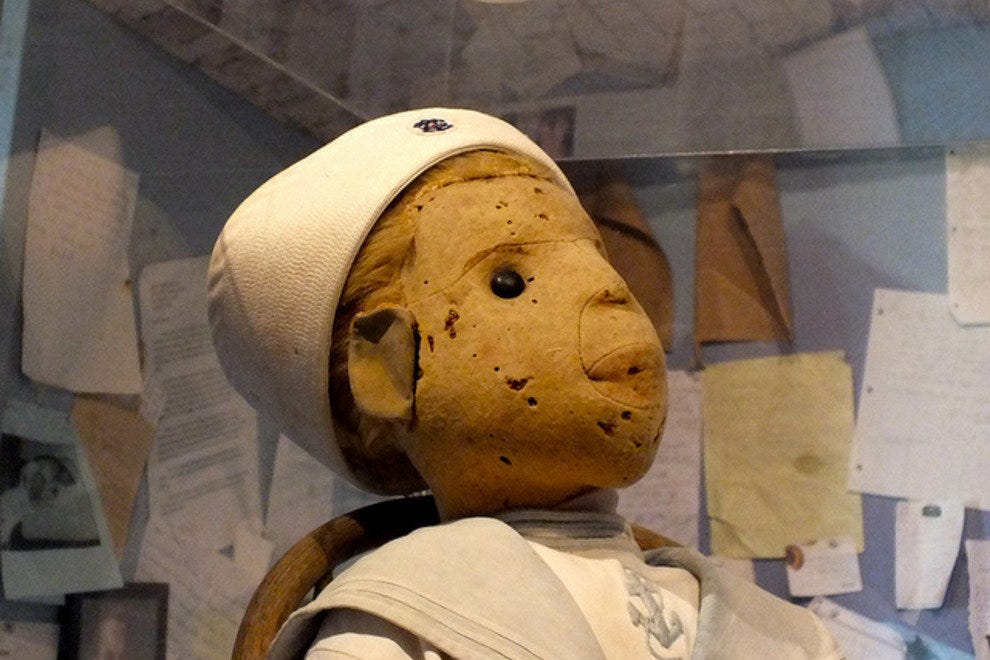 Robert the Doll at East Martello Museum