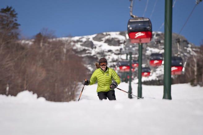 christmas mountain ski conditions