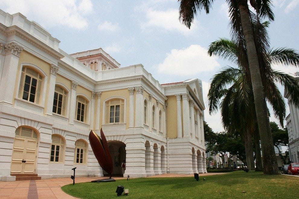 The Arts House is Singapore's oldest surviving government building and former Parliament House