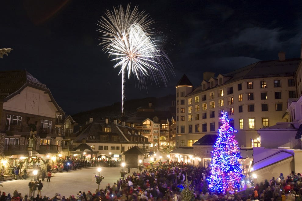 10 best ski resorts for christmas holiday features photo gallery by