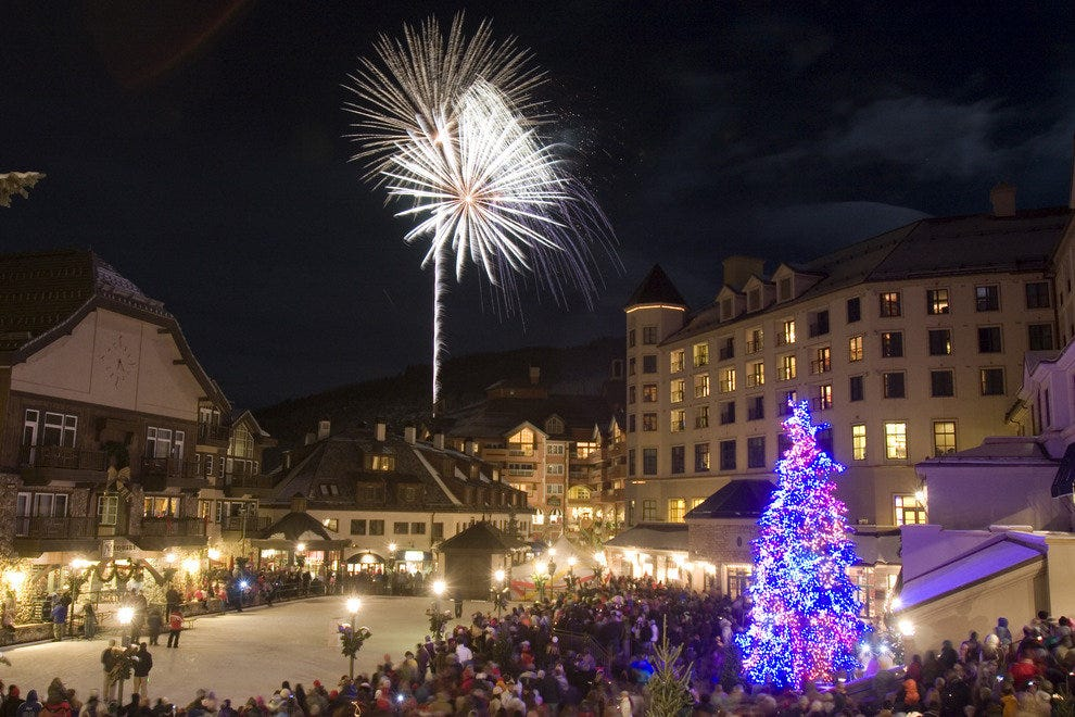 Beaver Creek at Christmas