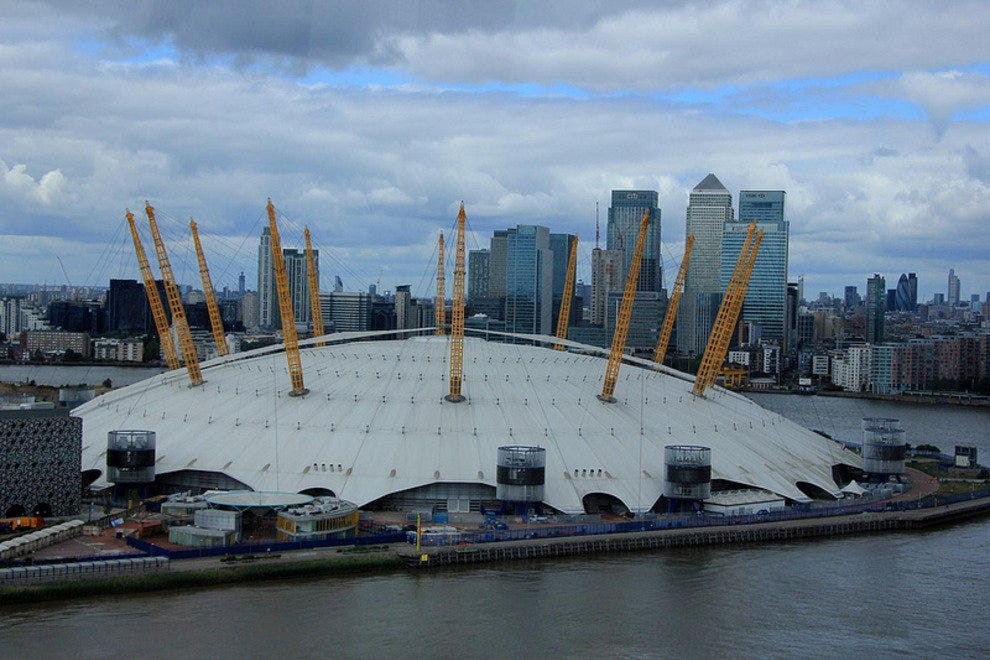 To the Millennium Dome, and beyond . . .