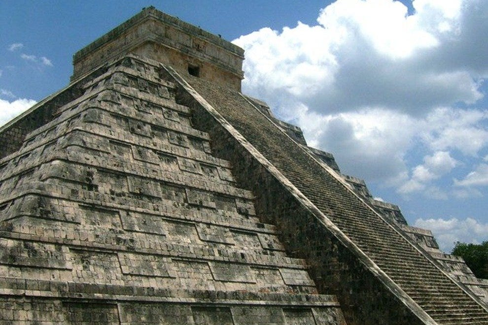 Chichen Itza's pyramid is an engineering marvel