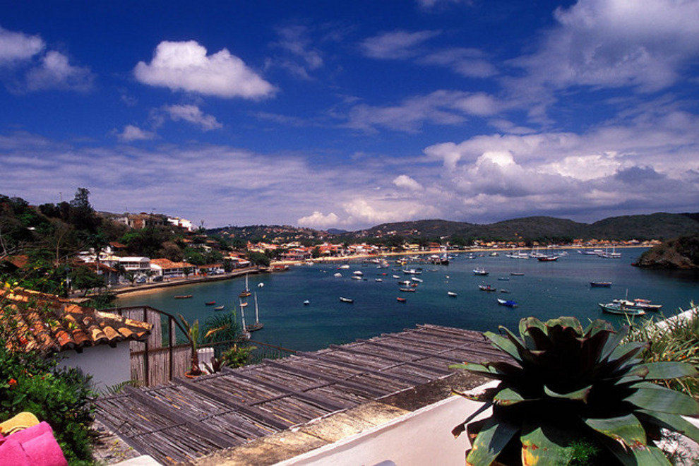 Buzios is set on a picturesque peninsula