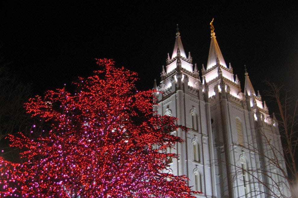 Temple Square: All Dressed Up