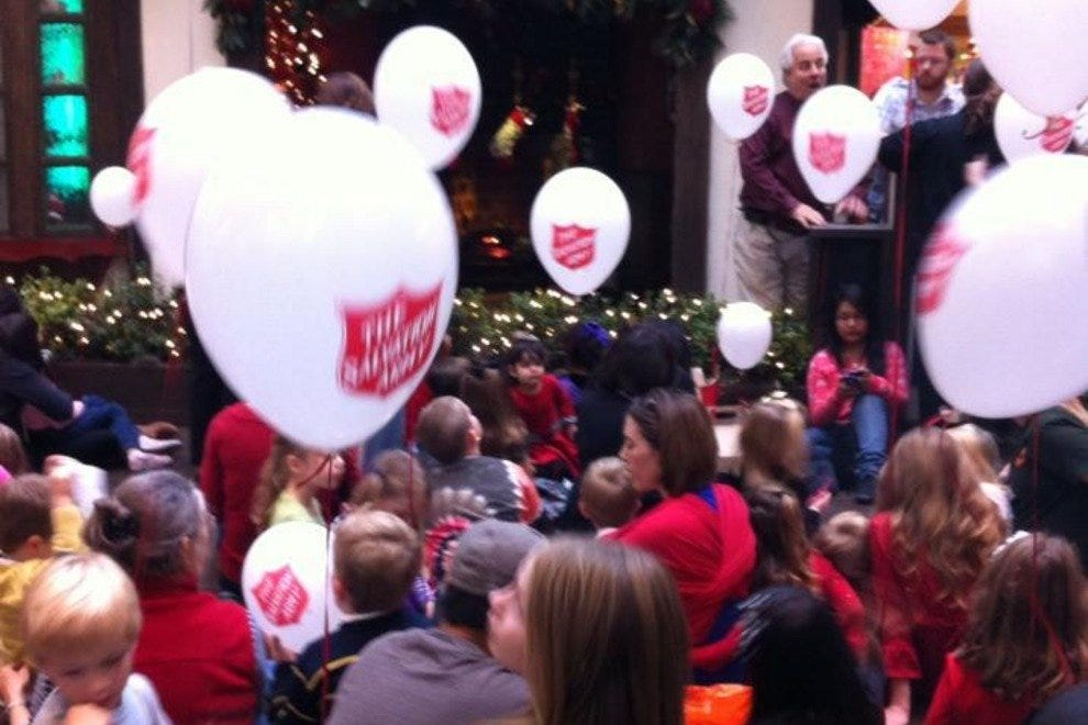 Story time with Santa at NorthPark Cente