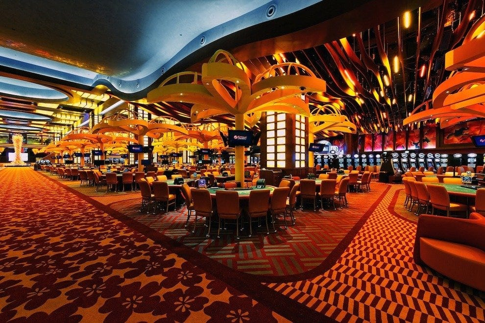 The Resorts World Casino was Singapore's first casino