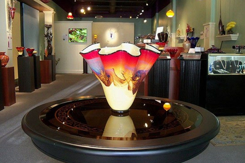 Liquid Sands Glass Gallery has beautiful finds at every price point.
