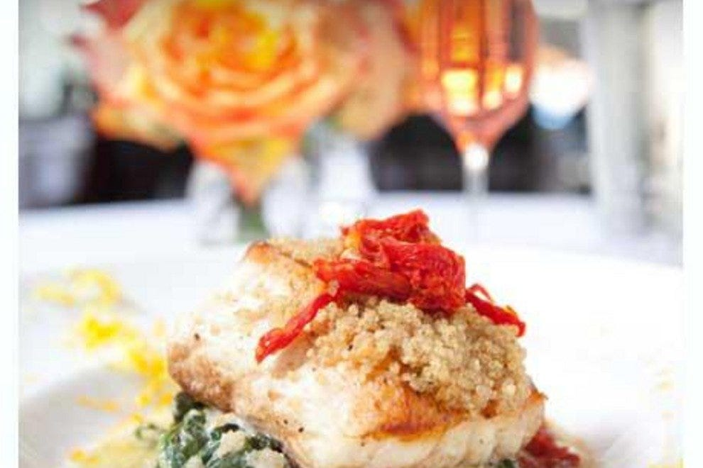 45 Bistro's local black grouper is perfectly prepared and full of flavor..
