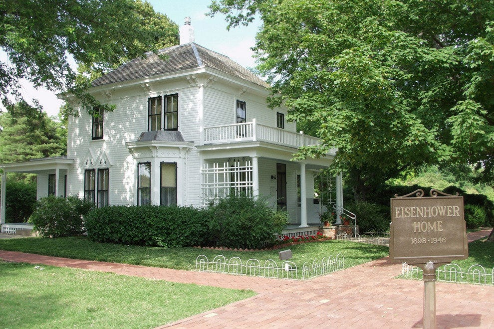 Dwight D. Eisenhower's boyhood home