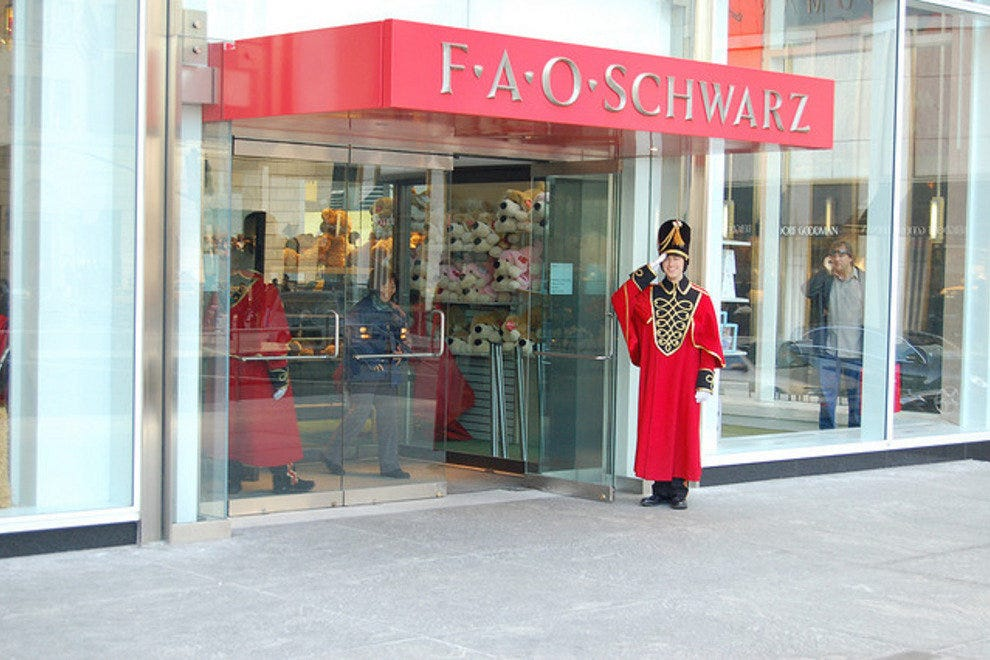 FAO Schwarz: New York City