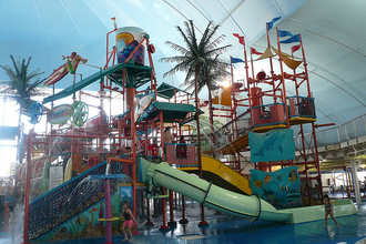 Niagara's Fallsview Indoor Water Park Provides All-Weather Fun