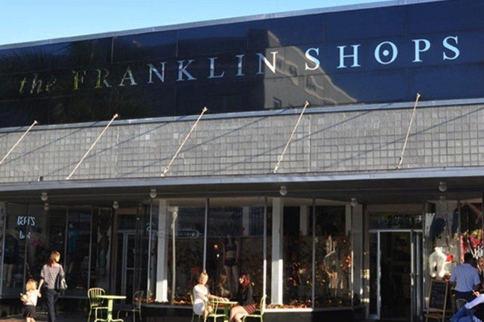 Franklin Shops on First Street
