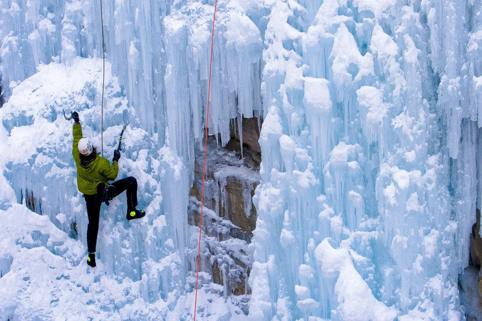 Ouray, CO Ice Climbing