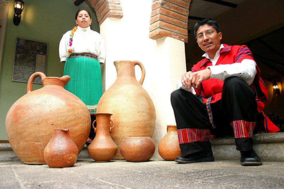 Traditional Ecuadorian clothes