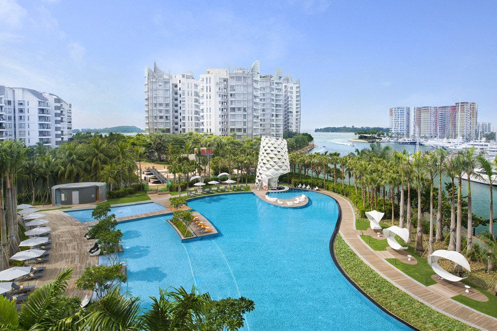10Best Adores the Pool at W Singapore, Sentosa Cove