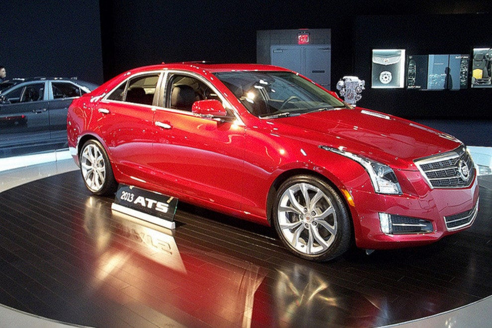 The all new 2013 Cadillace ATS