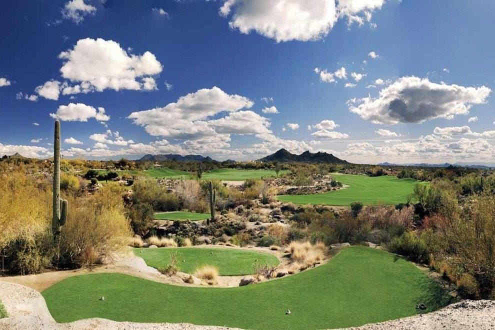 Play around twelve million year old boulders at The Boulders Golf Club, one of the finest golf resorts in the country.