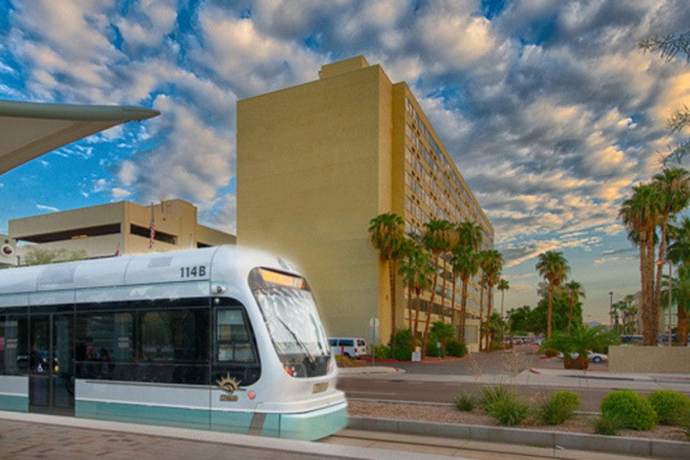 The new Coast Phoenix Sky Harbor Airport Hotel is the city's newest premier airport hotel, and the only Phoenix hotel with its own stop on the metro rail.
