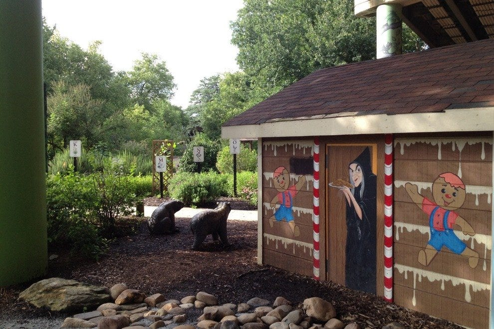Children's Garden at Linky Stone Park