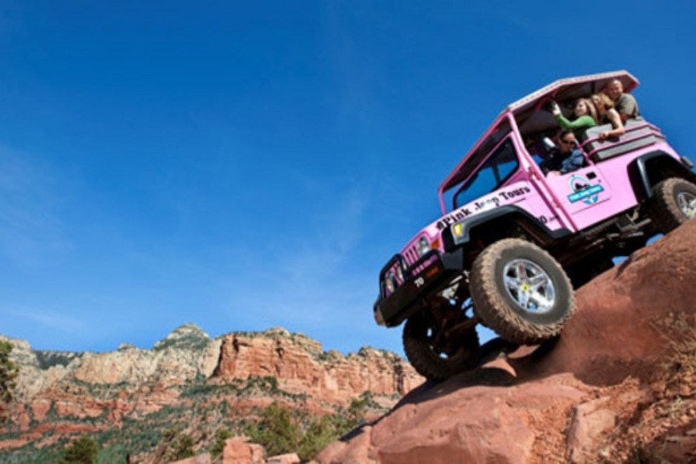Experience the thrill of off-road exploration with a Sedona Pink Jeep Tour.