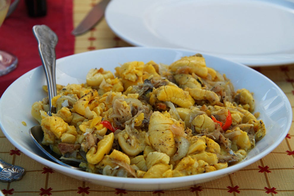 10 best dishes to order in jamaica eat drink article by for Salt fish ackee