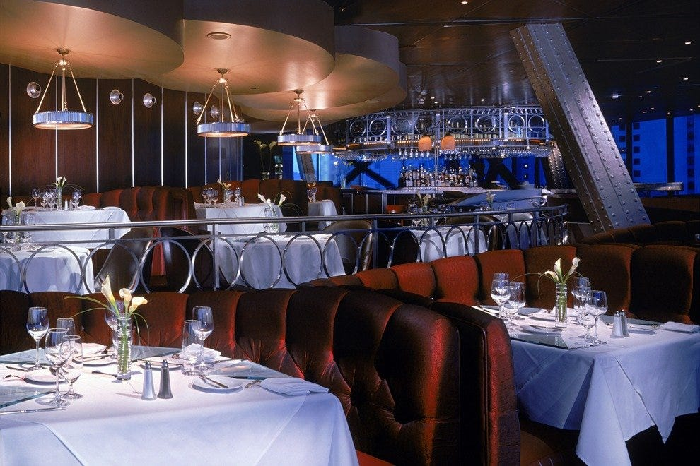 Eiffel tower restaurant las vegas restaurants review for Cuisine las vegas