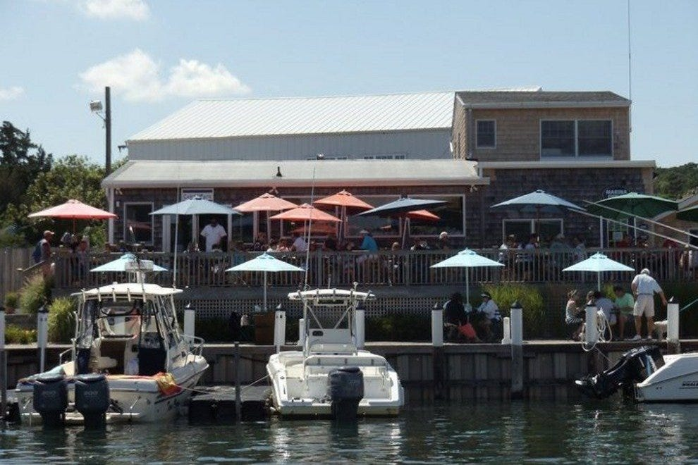 Hidden away in a Hampton Bays marina the Canal Cafe is a local fave.