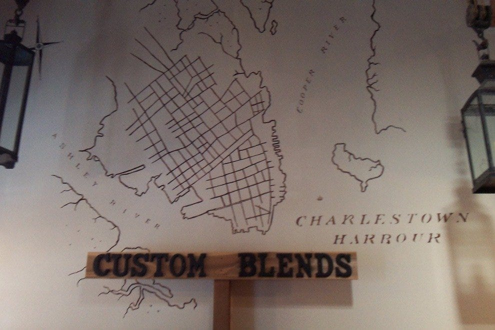 Rudimentary map of old Charleston