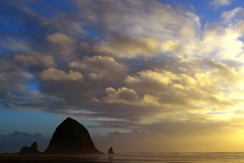 Sunset in Canon Beach, OR
