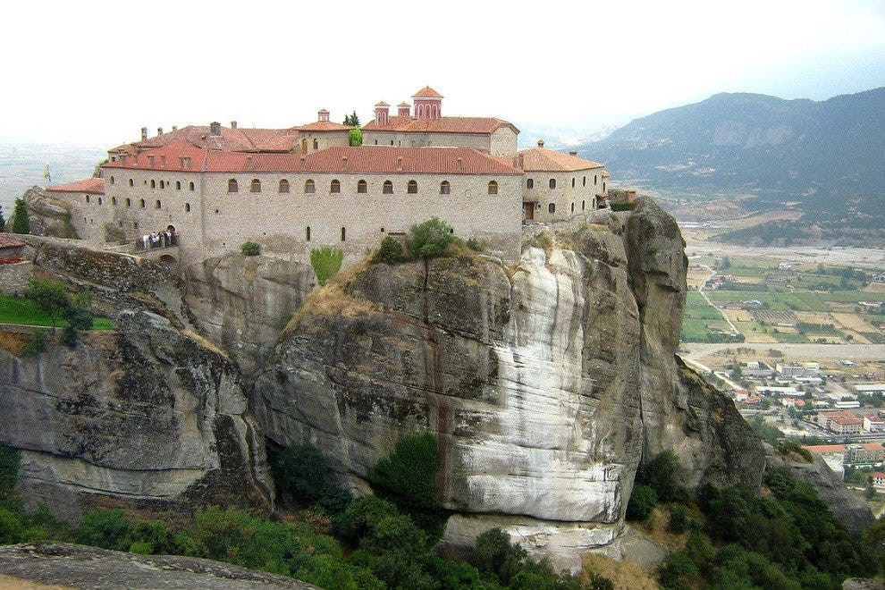 Saint Steven Abbey, Meteora, Greece