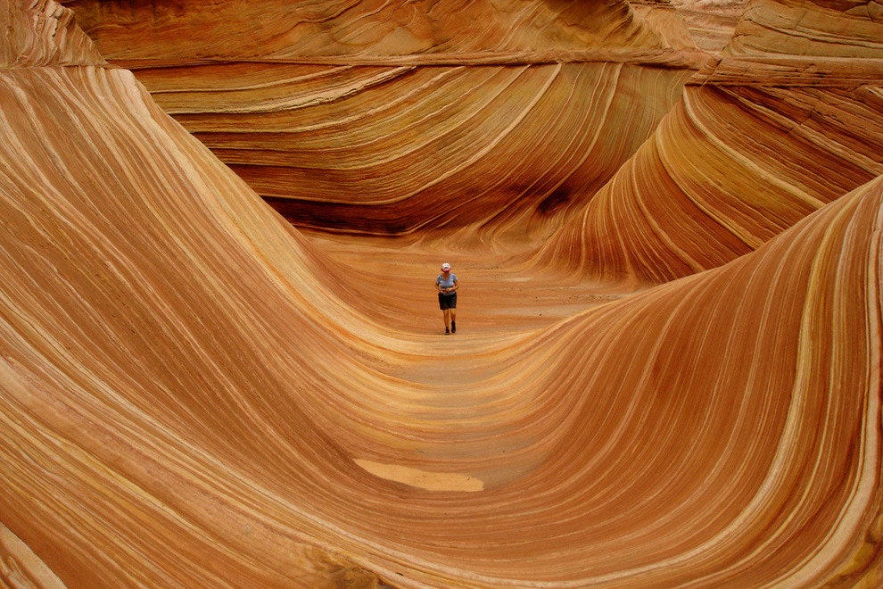 The Wave in Coyote Buttes, AZ