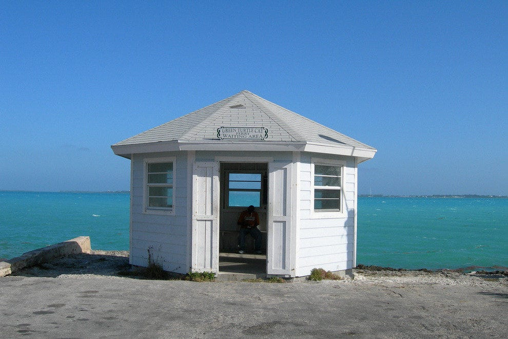 Ferry terminal for Green Turtle Cay
