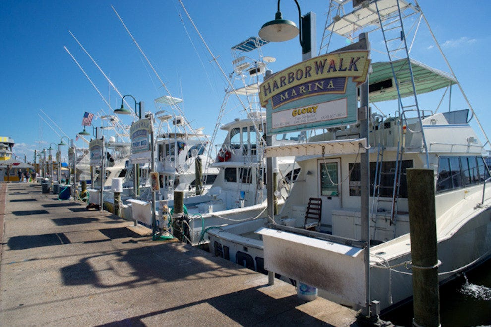 Destin Commercial Fishing Fleet