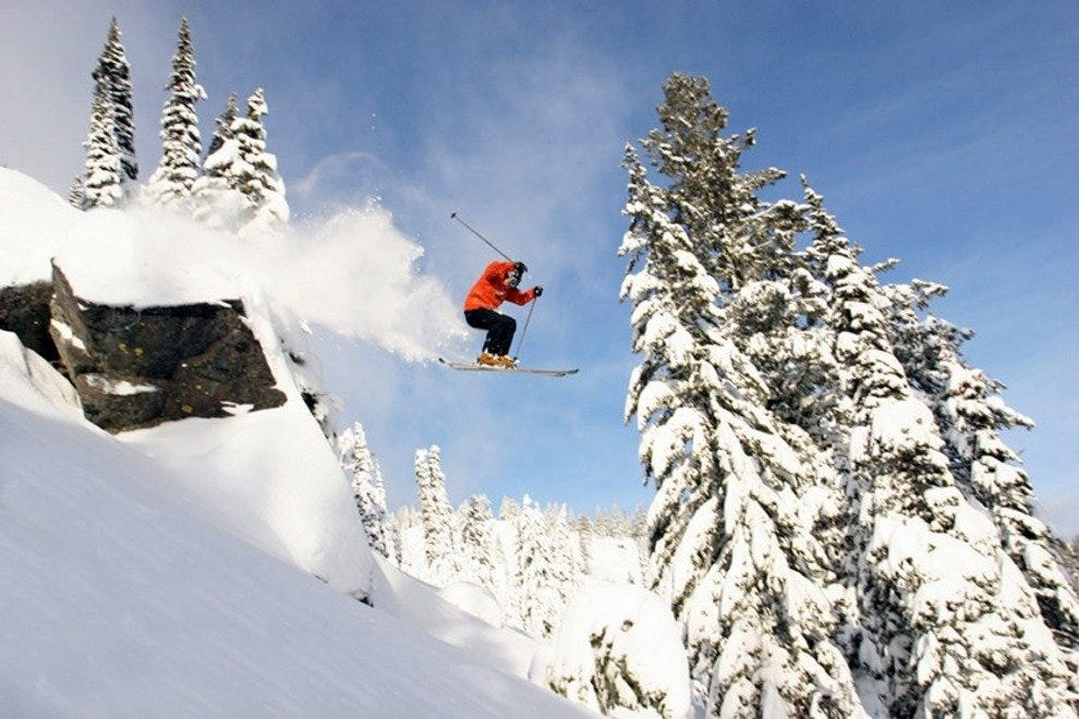 Experienced skiers will not be disappointed with Utah's slopes
