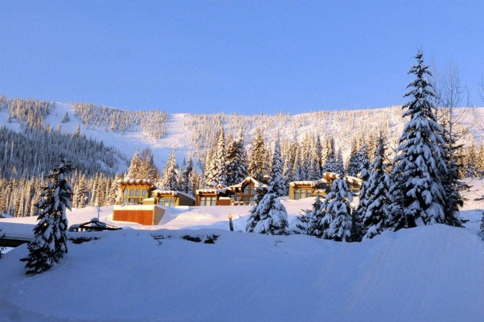 From spas, to snowshoeing, tubing or shopping, Schweitzer Resort will take care of it