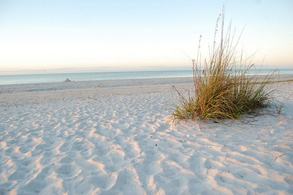 Sanibel's beaches are nearly always sunny
