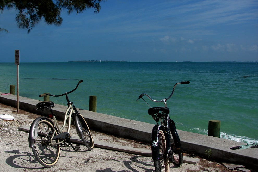 Cycling is a daily activity across the island