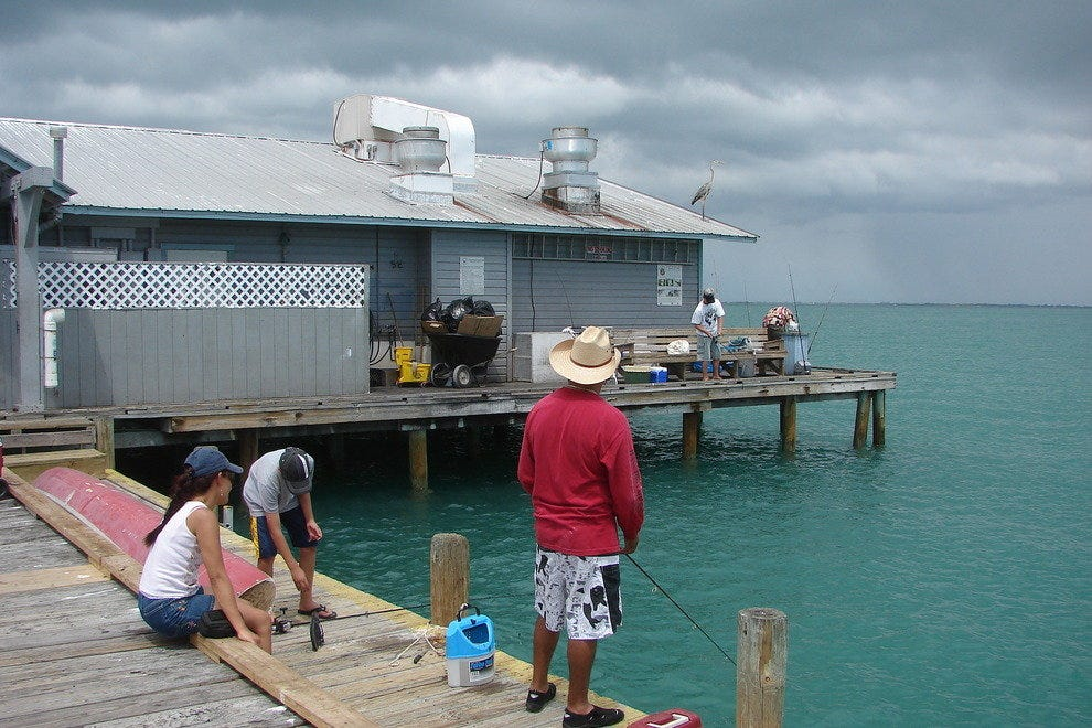 Annamaria's piers draw anglers, photographers, and those just looking for a scenic place to stroll
