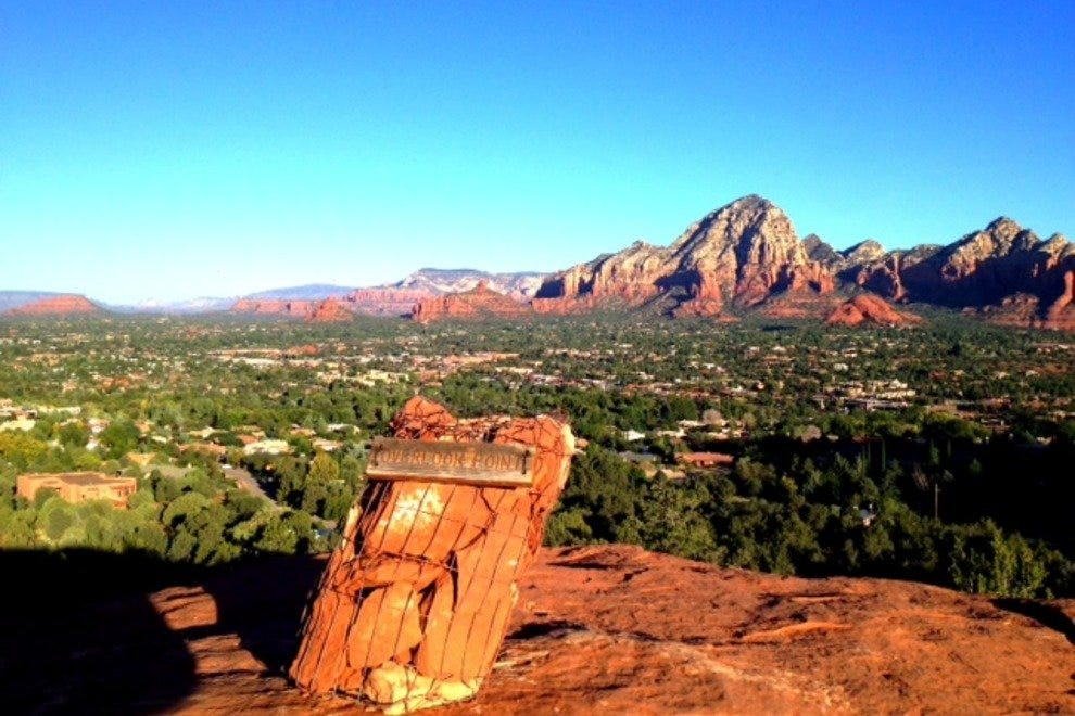 Views are long and spectacular in Sedona, Arizona