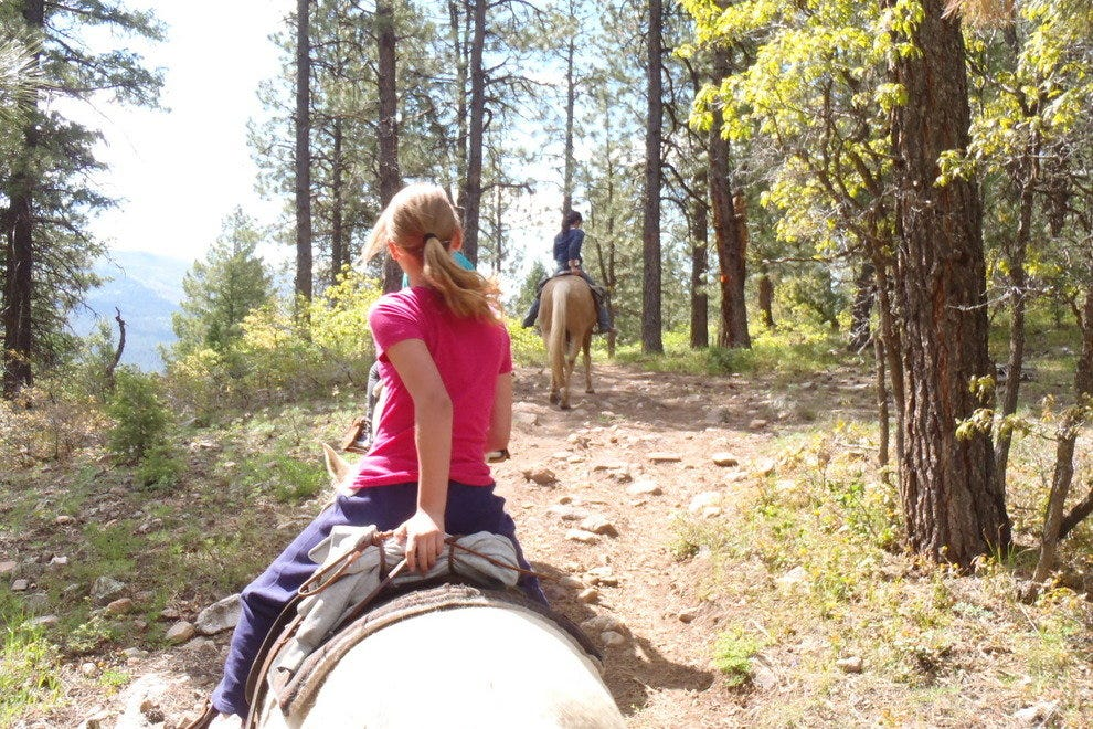 Horseback tour in Durango