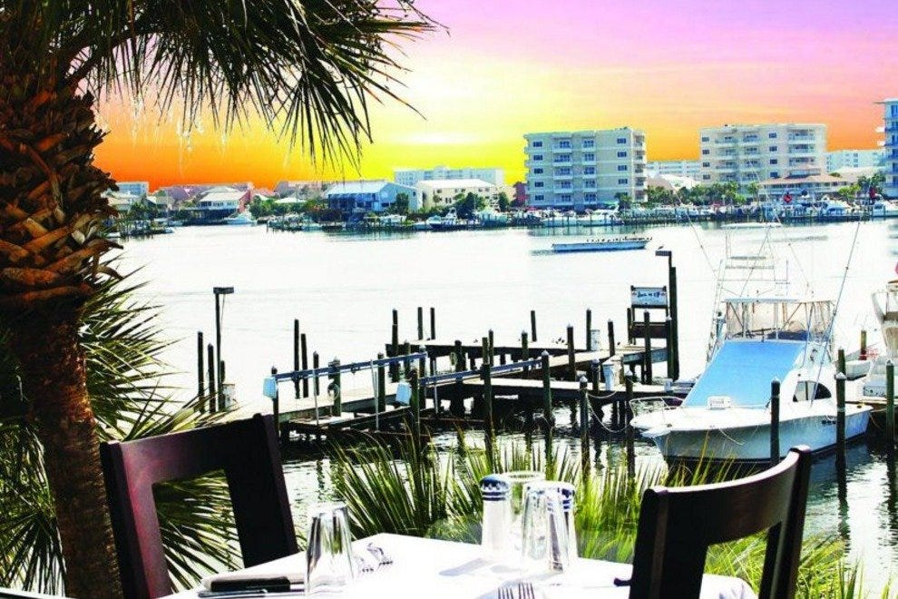 Marina caf destin restaurants review 10best experts for Fish out of water restaurant