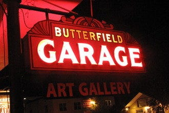 Butterfield Garage Art Gallery