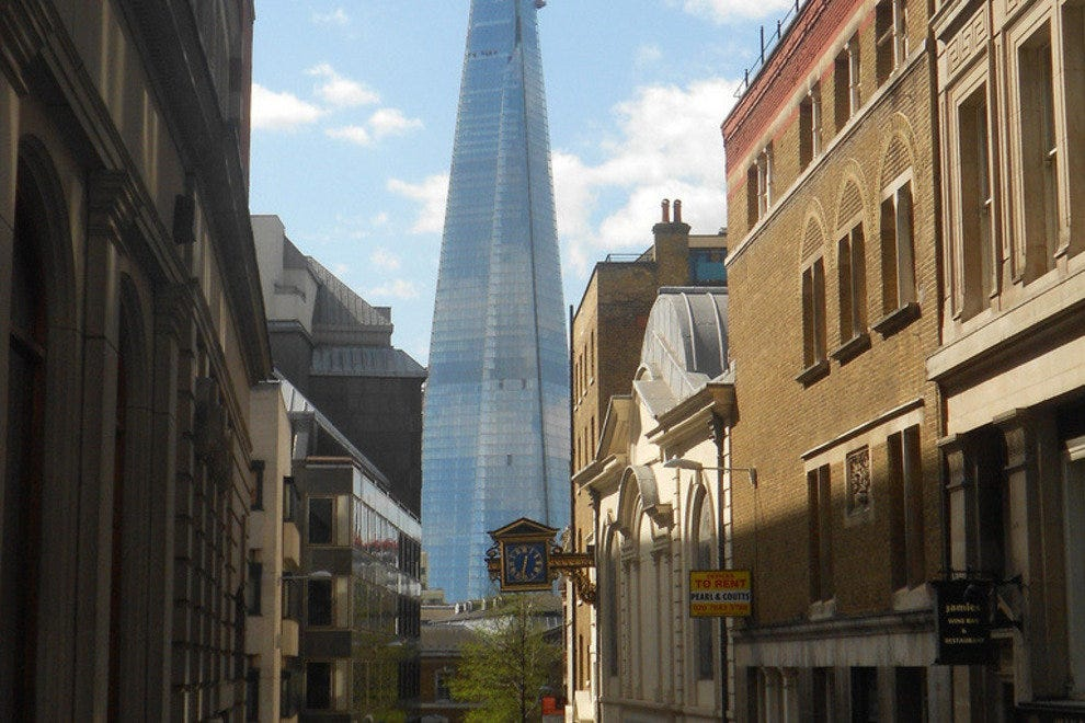 The Shard from street level