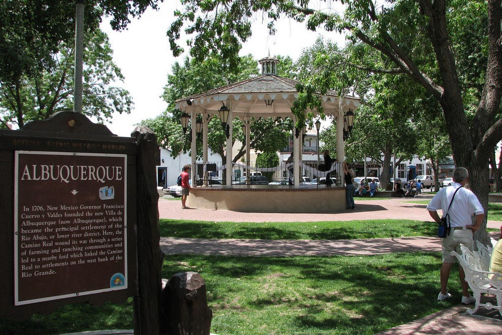 Things to do in historic old town albuquerque neighborhood travel