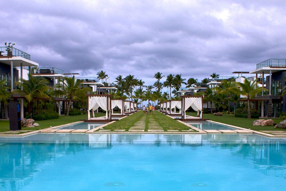 Many Samaná resorts, like Sublime Samana, have a quieter and more peaceful vibe than their counterparts elsewhere in the country.
