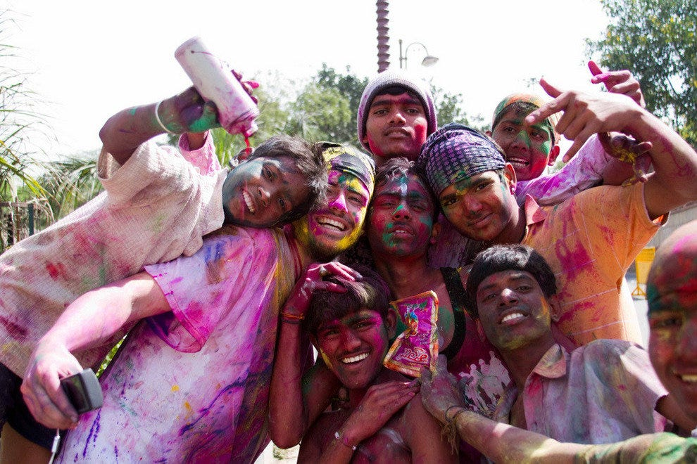 Holi in the United States