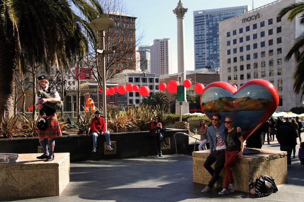 Union Square Is the Pulsating Heart of San Francisco