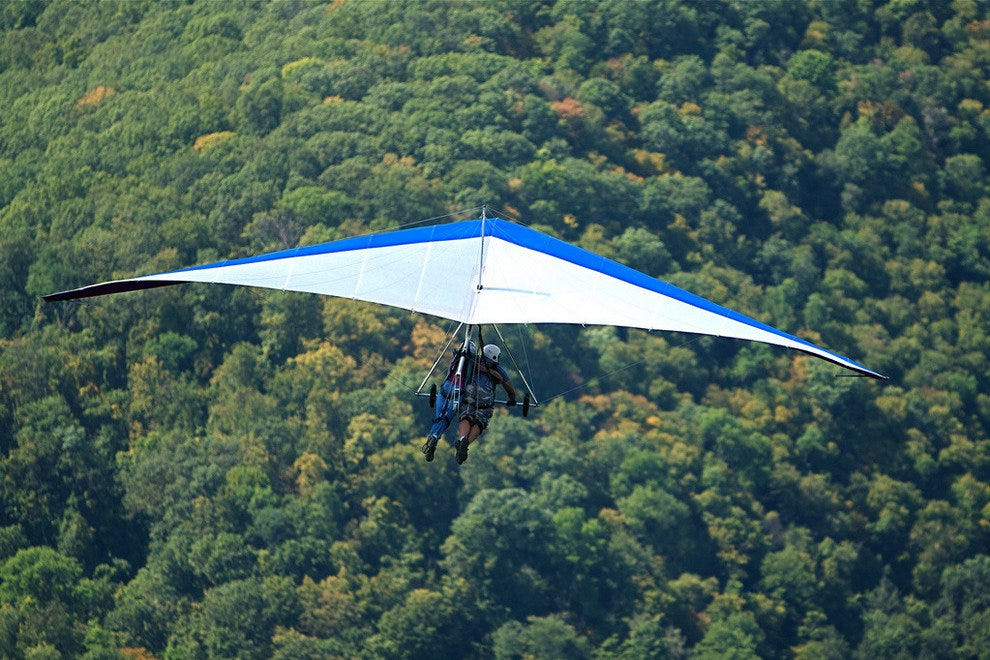 10Best Goes Hang-gliding in Golden, BC
